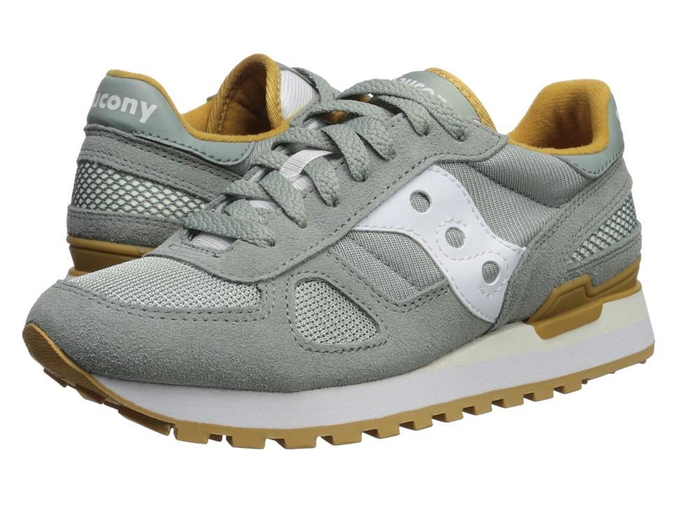 Saucony Originals Shadow Original (Green/White) Women's Classic Shoes