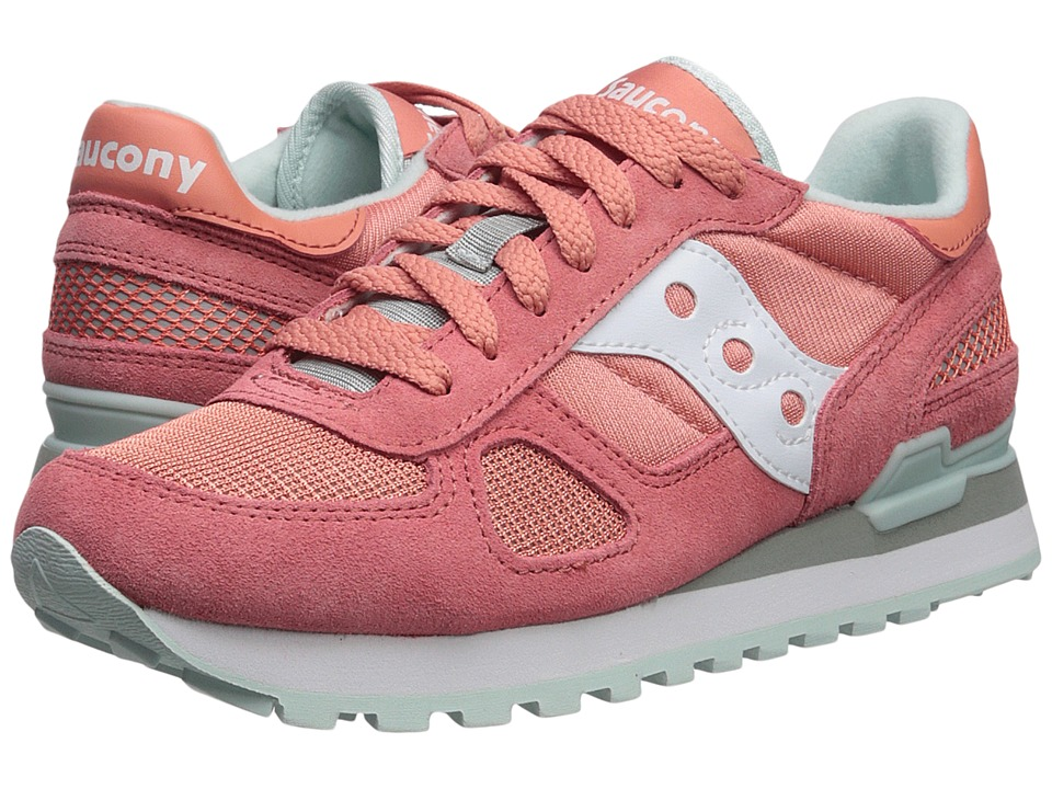 Saucony Originals Shadow Original (Pink/White) Women's Classic Shoes