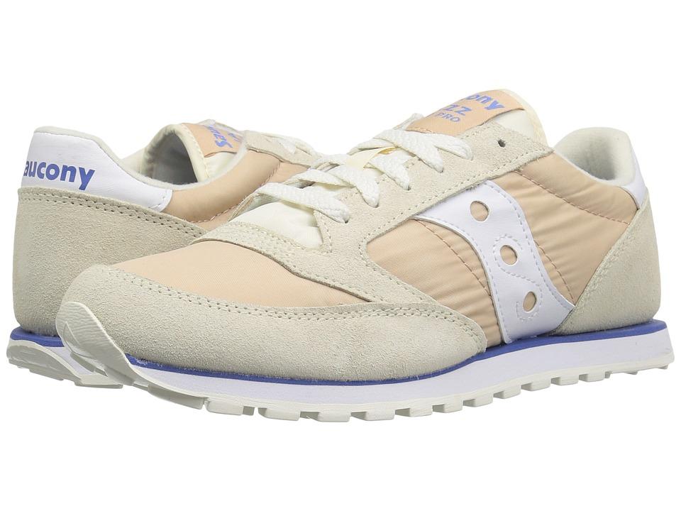 Saucony Originals Jazz Low Pro (Tan/White 1) Women's Classic Shoes