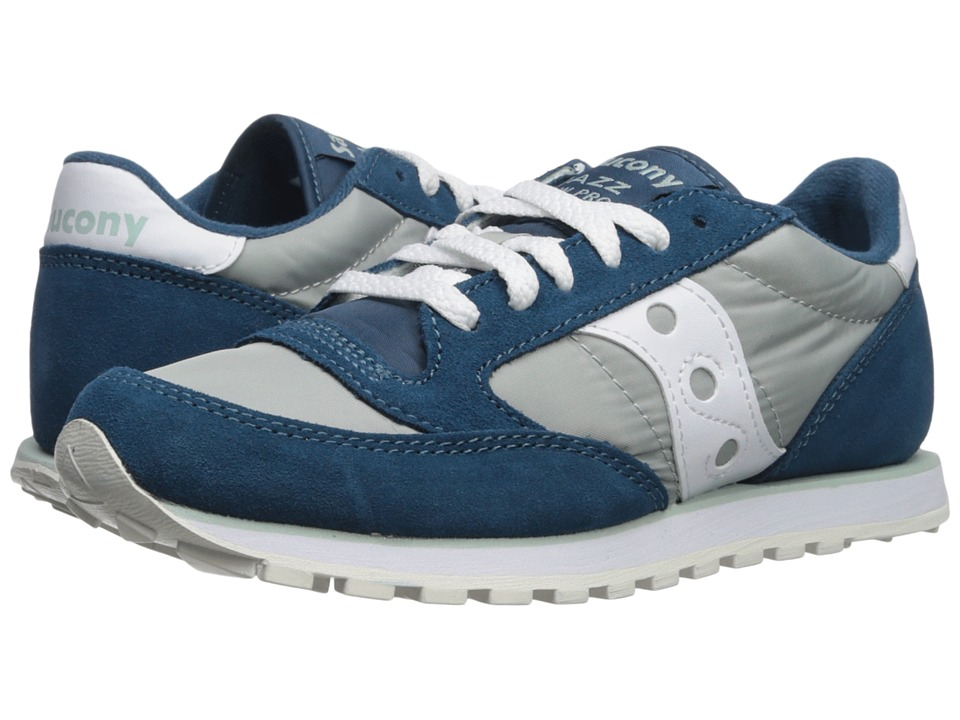 Saucony Originals Jazz Low Pro (Blue/White 1) Women's Classic Shoes