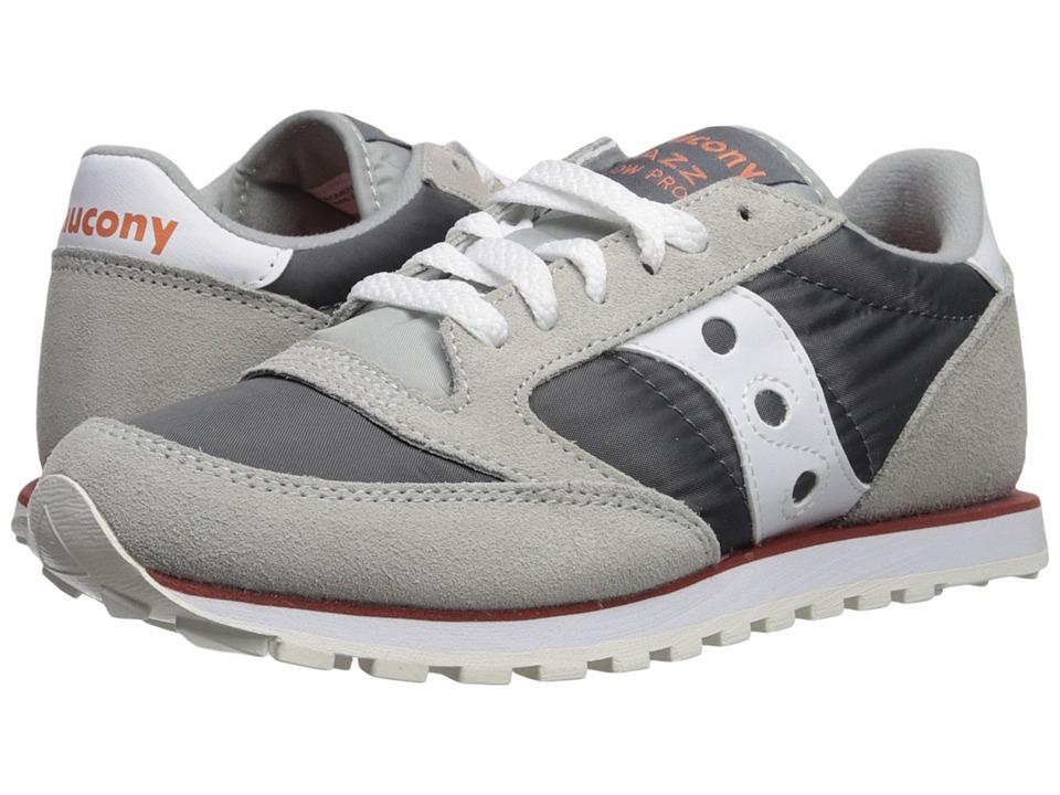 Saucony Originals Jazz Low Pro (Grey/White 1) Women's Classic Shoes
