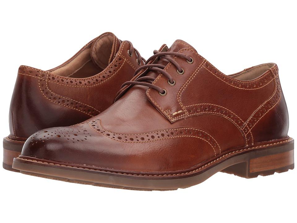 Sperry - Annapolis Wingtip (Dark Tan) Mens Shoes