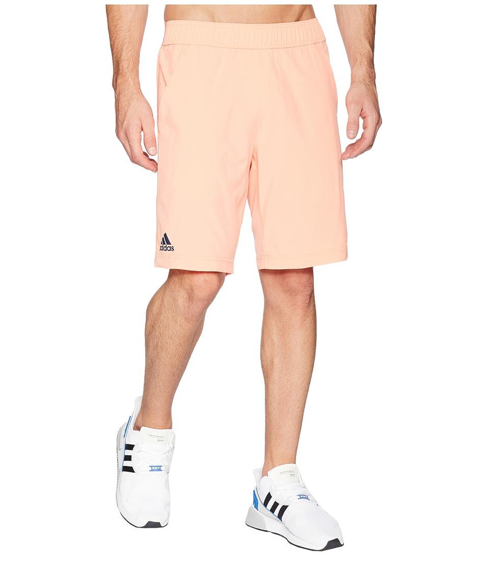 adidas Essex Shorts (Chalk Coral) Men's Shorts