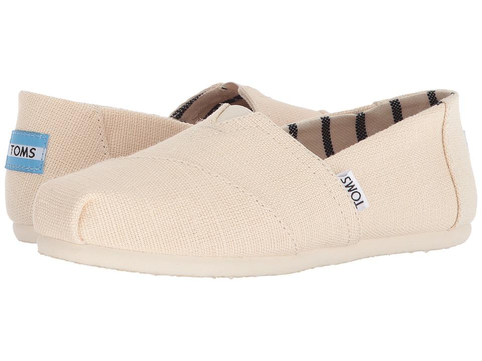 TOMS Venice Collection Alpargata (Antique White Heritage Canvas) Slip-On Shoes