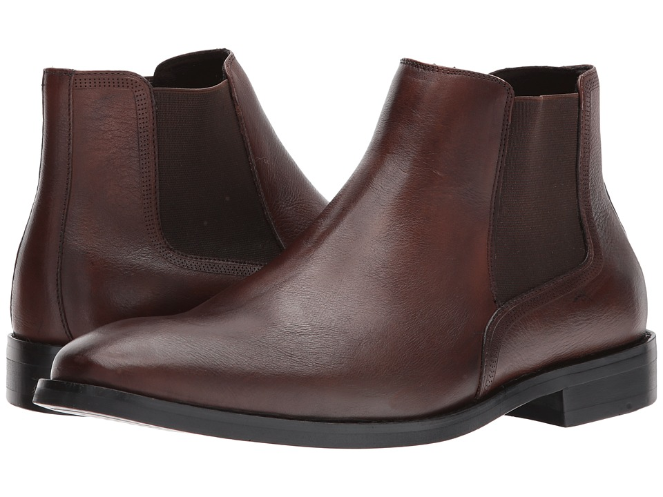 Kenneth Cole New York - Design 10425 (Cognac) Mens Pull-on Boots
