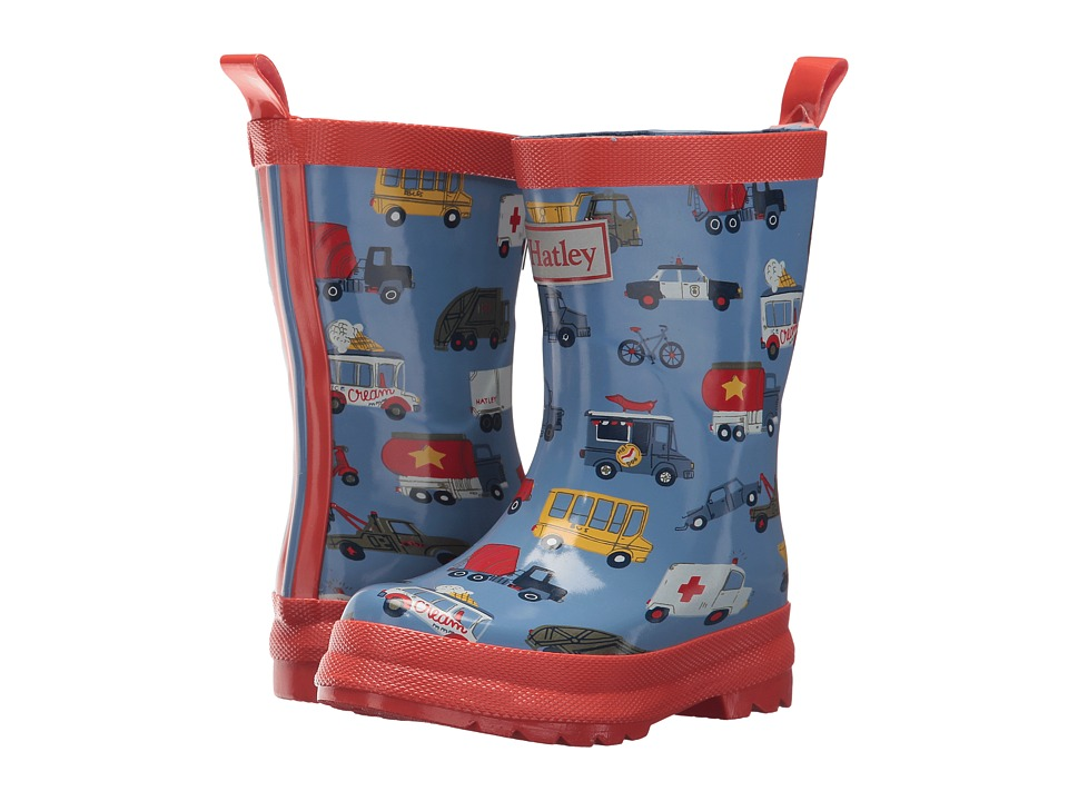 Hatley Kids - Rush Hour Rain Boots (Toddler/Little Kid) (Rush Hour) Boys Shoes