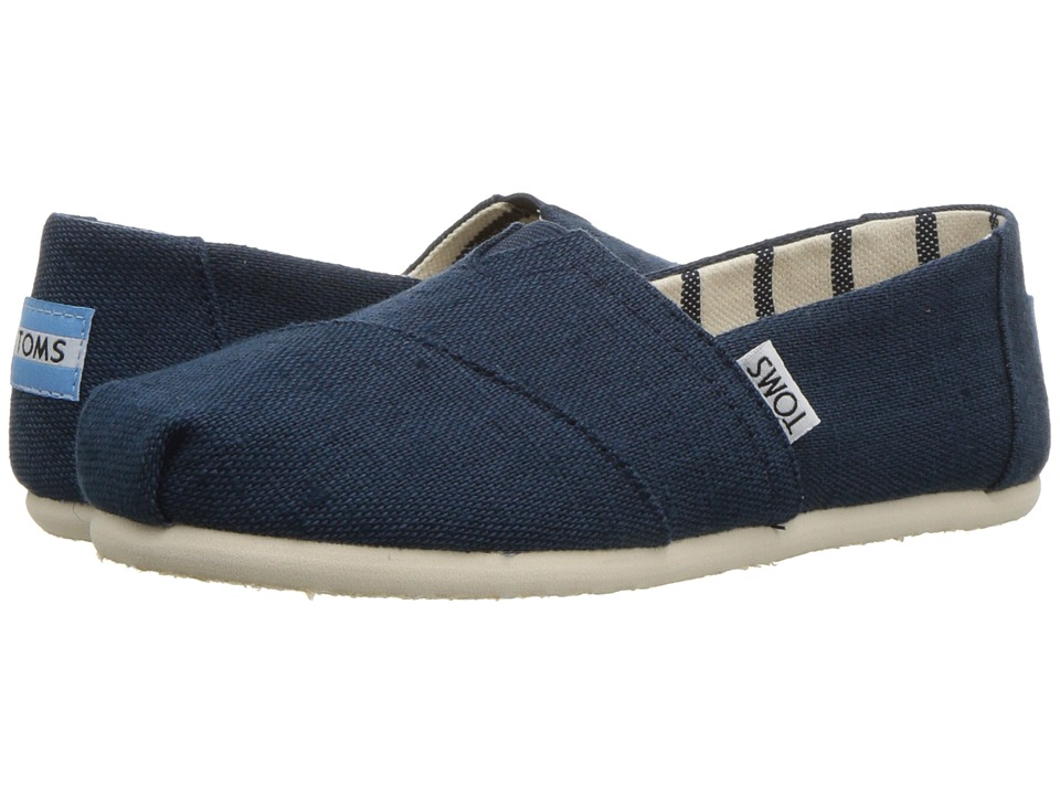 TOMS Venice Collection Alpargata (Majolica Blue Heritage Canvas) Slip-On Shoes
