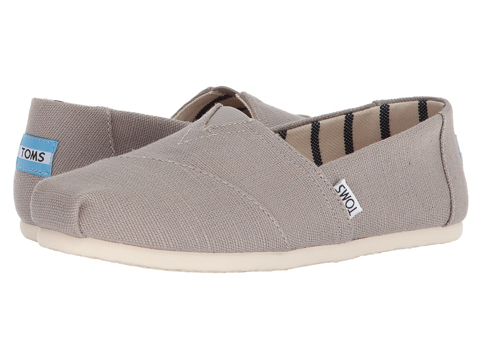 TOMS Venice Collection Alpargata (Morning Dove Heritage Canvas) Slip-On Shoes