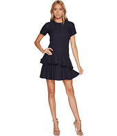 Rebecca Taylor - Short sleeve Pucker Jacquard Dress