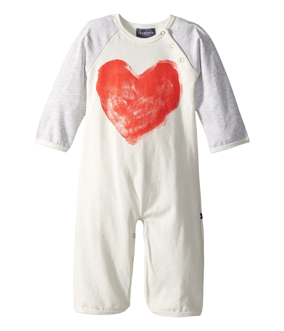 Toobydoo - Sweetheart I Bootcut Jumpsuit w/ Heart Print (...