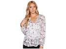 Rebecca Taylor - Long Sleeve Ruby Floral Top
