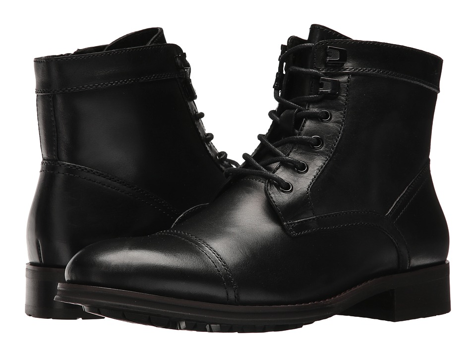 Kenneth Cole New York - Design 104352 (Black) Mens Dress Lace-up Boots
