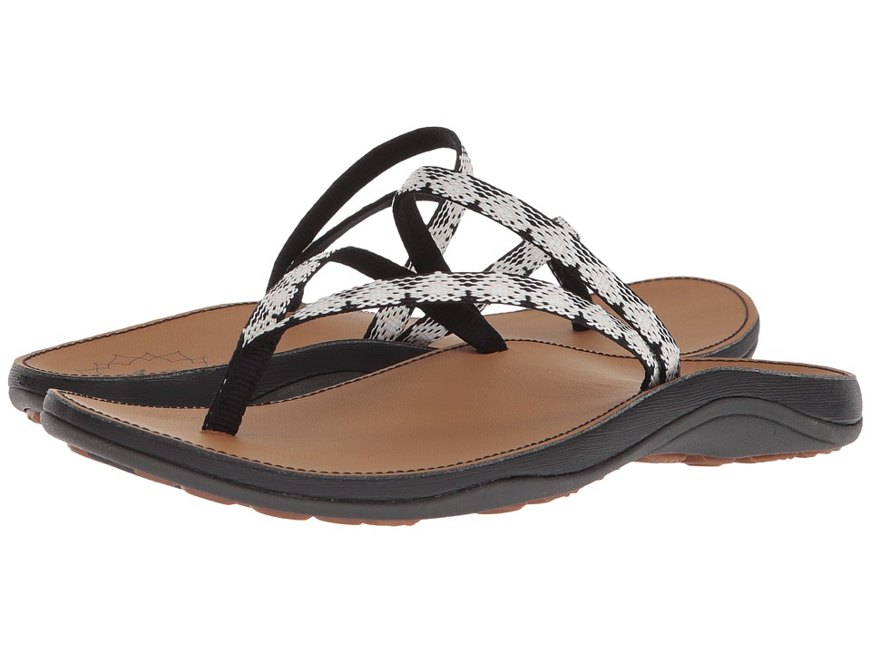 Chaco - Abbey (Peaks Black/White) Women's Sandals