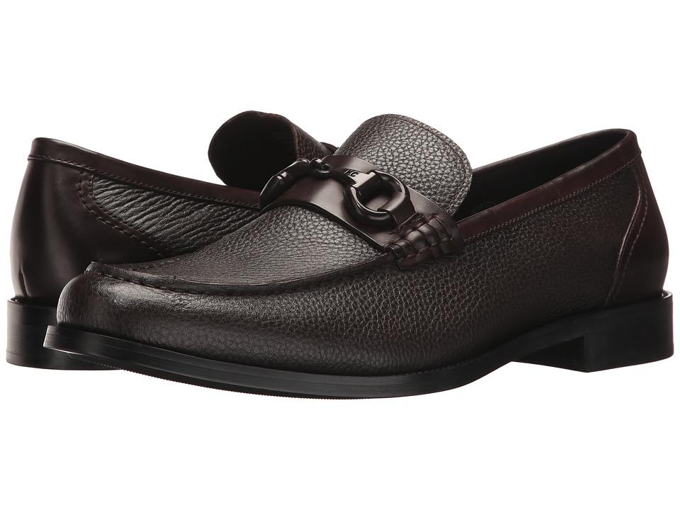 Kenneth Cole New York - Design 10483 (Brown) Mens Slip-on Dress Shoes