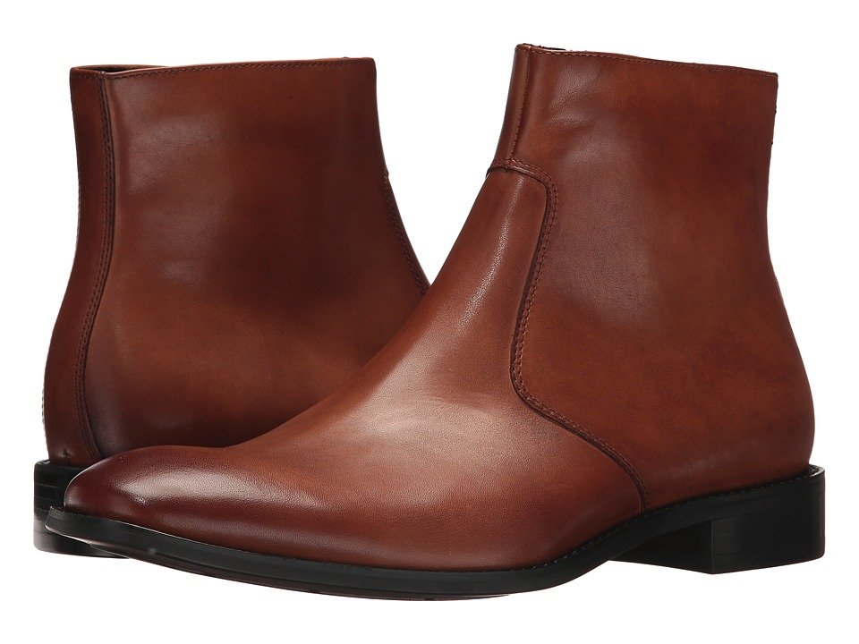 Kenneth Cole New York - Design 10505 (Cognac) Mens Dress Pull-on Boots