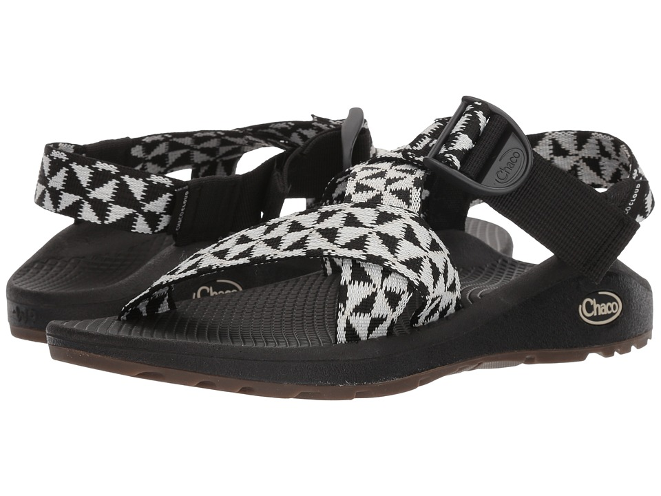 Chaco Mega Z Cloud (Barred Black/White) Sandals