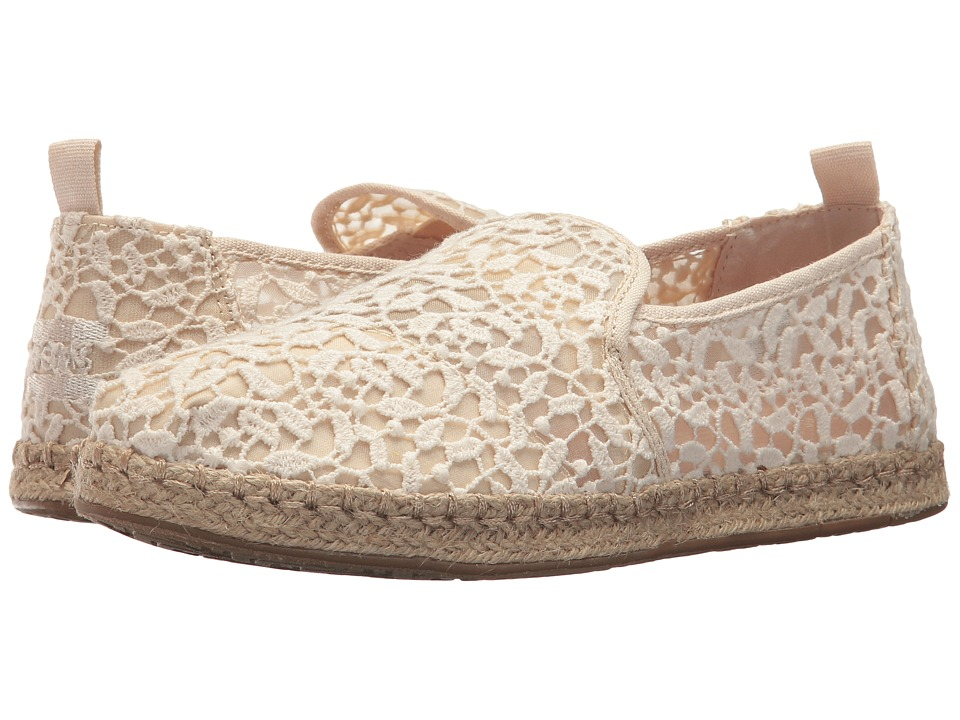 TOMS Deconstructed Alpargata Rope (Natural Lace Leaves) Slip-On Shoes