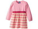 Toobydoo Geo Pink Play Dress (Infant/Toddler)