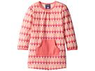Toobydoo Geo Pink Pocket Dress (Infant/Toddler)