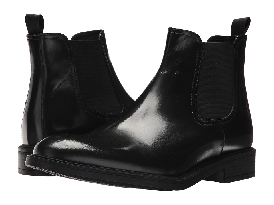 Kenneth Cole New York - Design 10625 (Black) Mens Dress Pull-on Boots