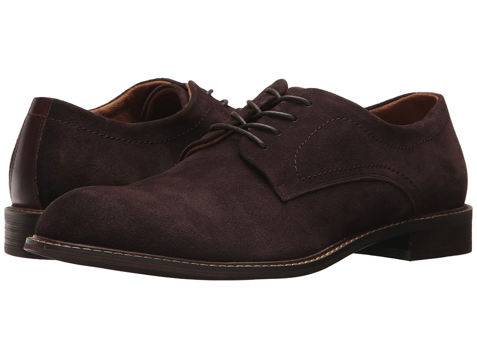 Kenneth Cole New York - Design 10891 (Chocolate) Mens Plain Toe Shoes