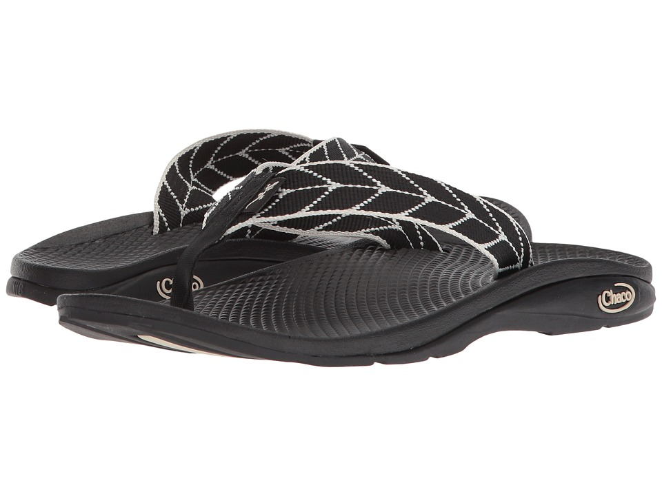 Chaco Flip EcoTreadtm (Vendure Black) Women's Shoes