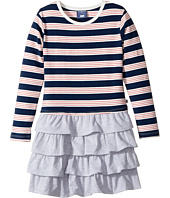 Toobydoo - French Stripe Ruffle Skirt Dress (Toddler/Little Kids/Big Kids)