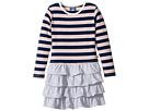 Toobydoo - French Stripe Ruffle Skirt Dress (Toddler/Little Kids/Big Kids)