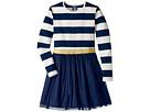 Toobydoo Toobydoo Tulle Dress w/ Rugby Stripe (Infant/Toddler/Little Kids/Big Kids)