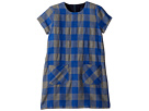 Toobydoo Toobydoo Flannel Check Shift Dress (Toddler/Little Kids/Big Kids)