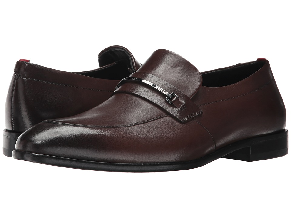 BOSS Hugo Boss Dress Appeal Loafer by HUGO (Dark Brown) Men