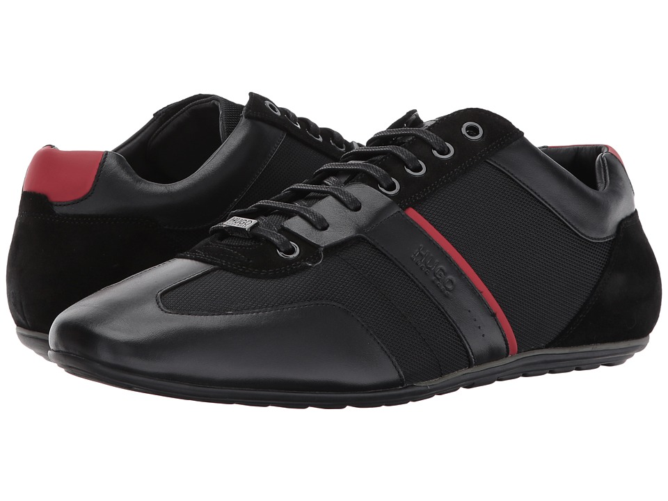 BOSS Hugo Boss Life Low Sneaker by BOSS Green (Black 1) Men