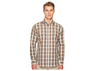 eleventy Linen Plaid Snap Western Shirt