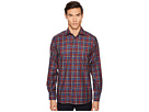 Eton Contemporary Fit Multi Plaid Shirt