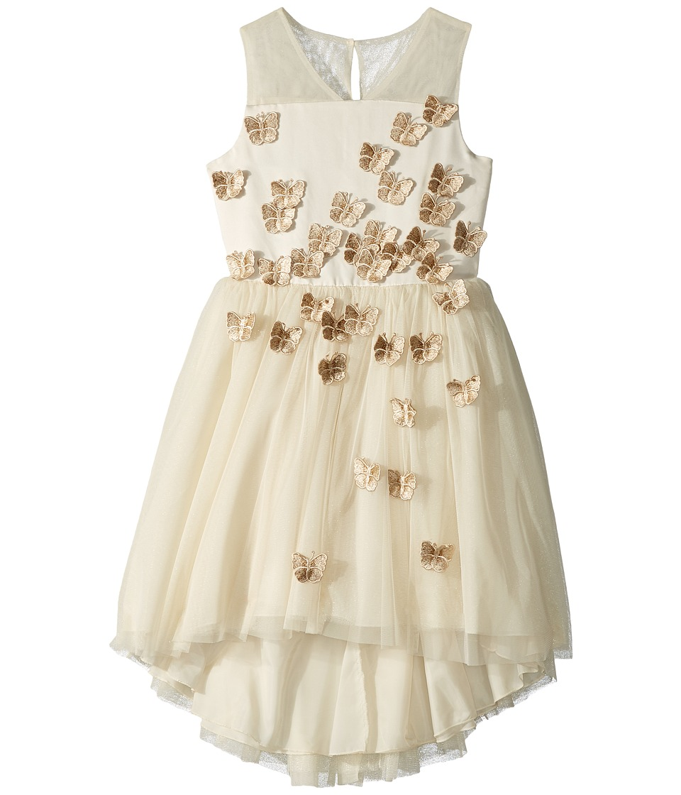 Nanette Lepore Kids - Butterfly Embroidered Tulle Dress