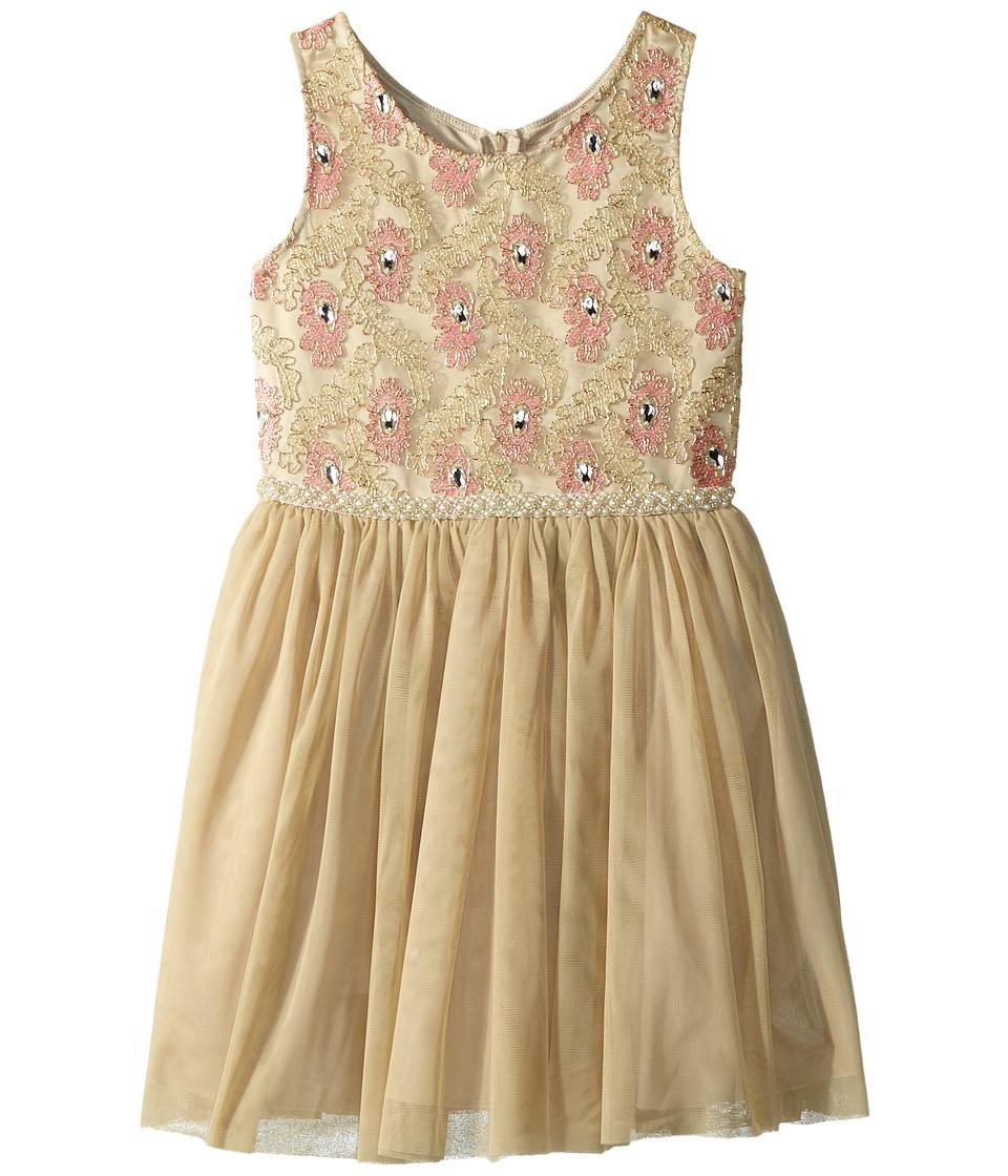 Nanette Lepore Kids - Novelty Lurex Mesh Dress