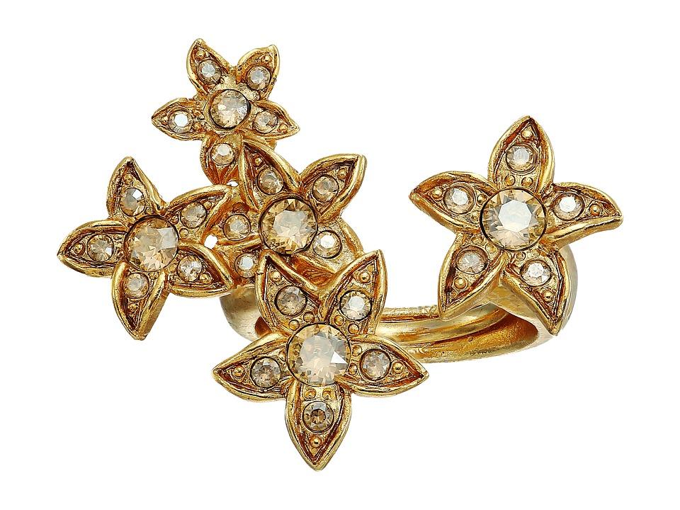 Oscar de la Renta - Star Fish Ring (Cry Gold Shadow) Ring