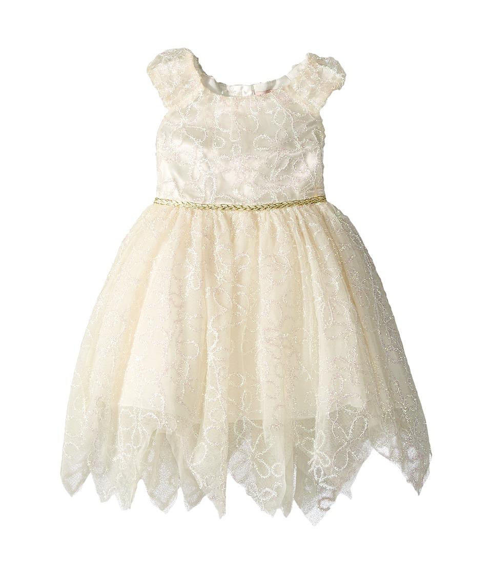 Nanette Lepore Kids - Novelty Shimmer Soutache Lace Dress