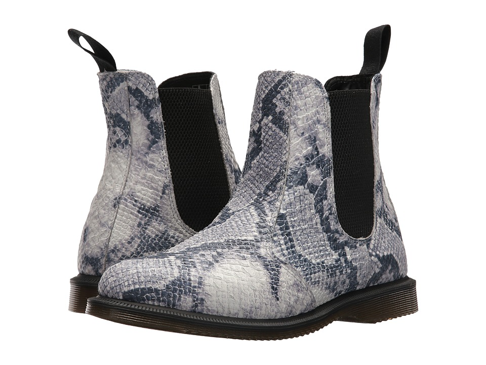 Dr. Martens Flora Chelsea Boot (Light Grey Asciano) Women