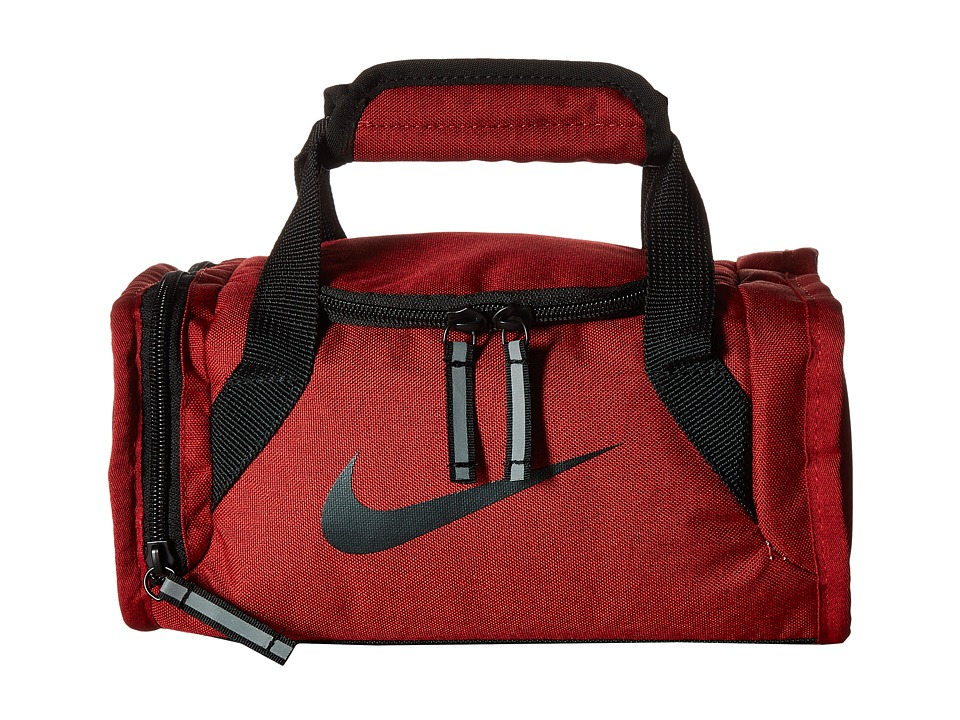 Nike Kids Lunch Bag (University Red Heather) Duffel Bags