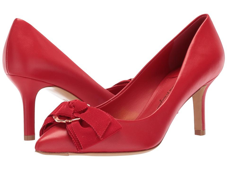 Salvatore Ferragamo Talla 70 (Lipstick New Nappa VI) High Heels