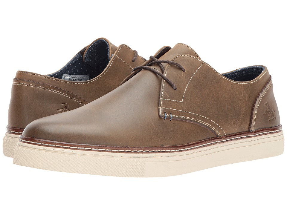 Penguin Wayne (Shitake Leather) Men's Lace up casual Shoes