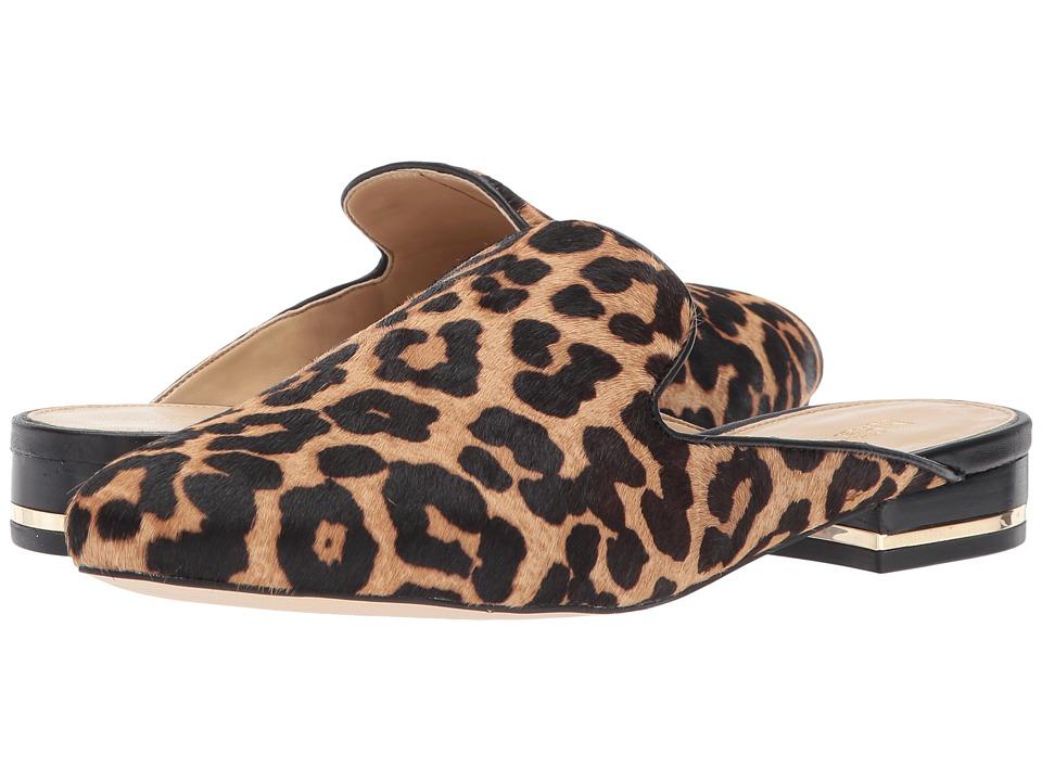 MICHAEL Michael Kors Natasha Slide (Natural/Black Cheetah Haircalf/Nappa 1) Women