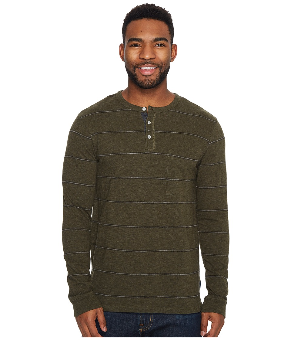 Roark Som Long Sleeve Knit (Army) Men