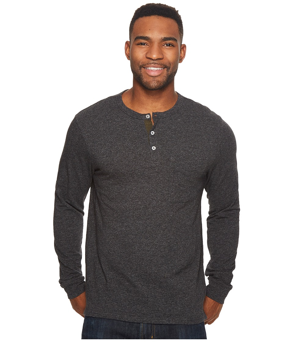 Roark Som Long Sleeve Knit (Dark Charcoal) Men
