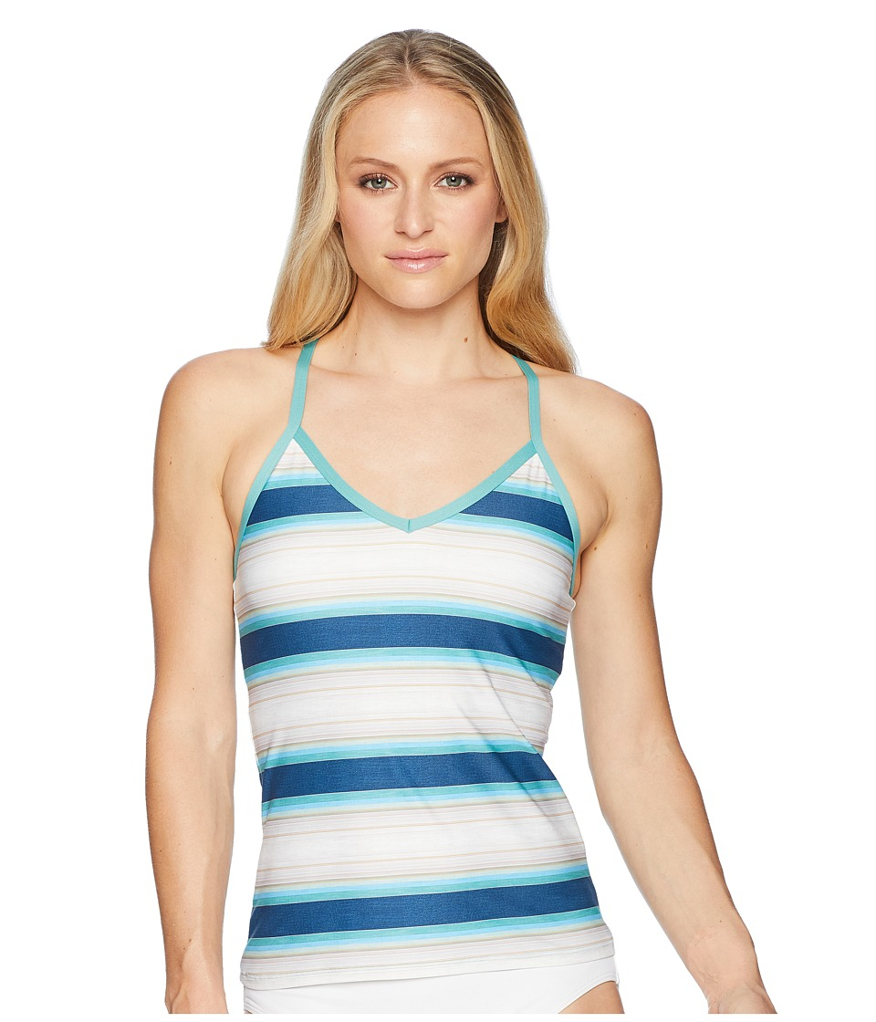 Carve Designs - Catalina Tankini (Playa Stripe) Womens Swimwear