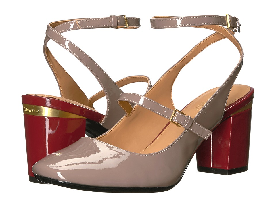 Calvin Klein Cleary (Winter Taupe Patent) Women