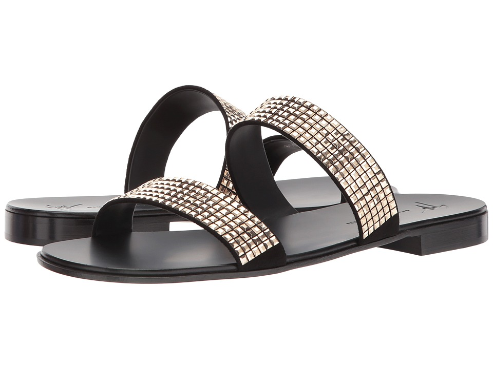 Giuseppe Zanotti - Evening Zak Sandal (Black) Men's Sandals