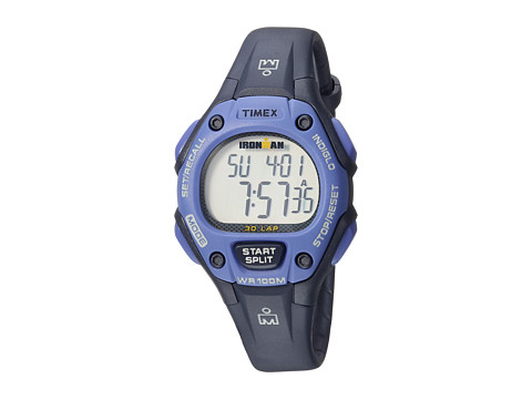 Timex Ironman Classic 30 Mid-Size Resin Strap - Blue