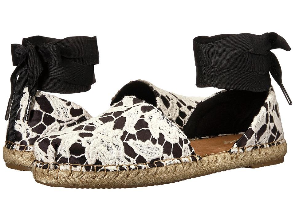 TOMS Katalina (Black Floral Lace)